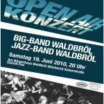 Plakat Open-Air 2010 Big-Band
