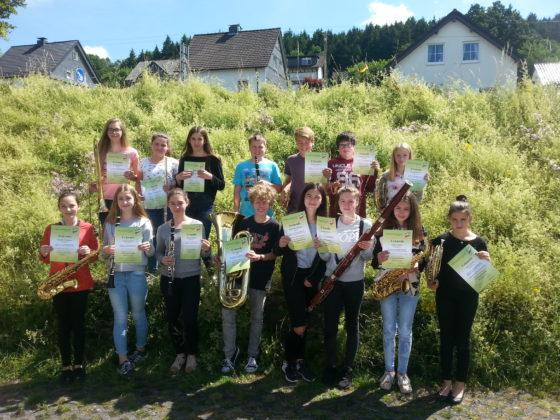 Erfolgreiche Musikschüler in Oberberg